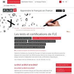Les tests et certifications de FLE - FLE.fr