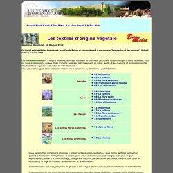 Les textiles d'origine végétale