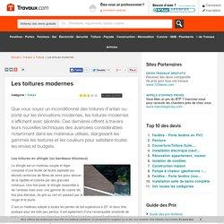 Les toitures modernes - Travaux.com