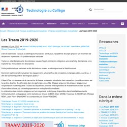 Les Traam 2019-2020