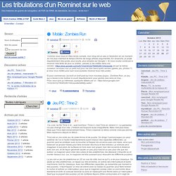 Les tribulations d'un Rominet sur le web