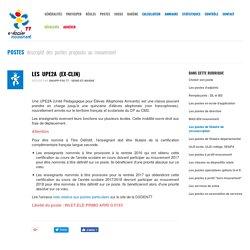 Les UPE2A (ex-CLIN) - SNUipp-FSU