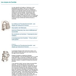 dissertation sur candide apologue 24 janv 2013  dissertation portant sur les limites de l'apologue dans sa forme d'argumentation   dans le chapitre un du conte philosophique, candide est.