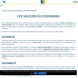 Les valeurs du coworking : un repère pour Le 144