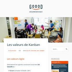 Les valeurs de Kanban – Le Blog Goood!