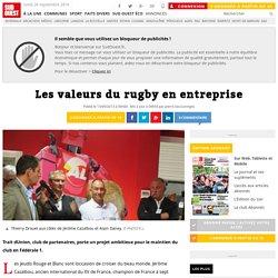 Les valeurs du rugby en entreprise