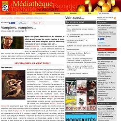 Vampires, vampires... L'article