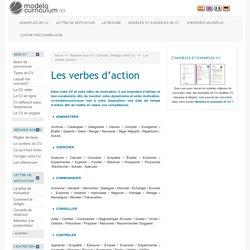 Les verbes d'action