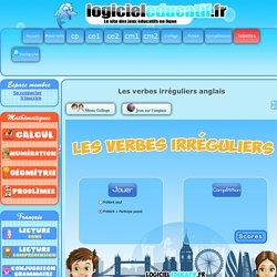 Les verbes irréguliers anglais