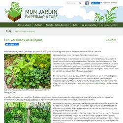 Les verdures asiatiques - monjardinenpermaculture.fr