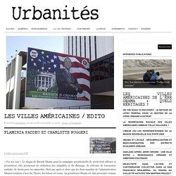 Les villes américaines / Edito