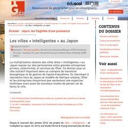 Les villes « intelligentes » au Japon