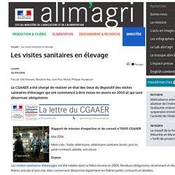 CGAAER 26/09/16 Les visites sanitaires en élevage