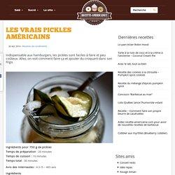 Les vrais pickles américains