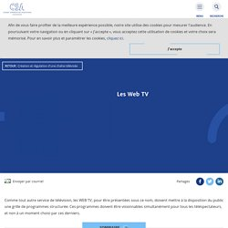 Les Web TV