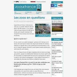 Les zoos en questions