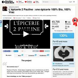 L'épicerie 2 Pauline : une épicerie 100% Bio, 100% Vrac présenté par les2pauline