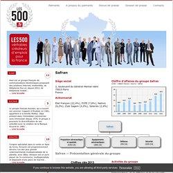 Les500.fr - Safran - Fiche Entreprise