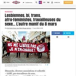 (16) Lesbiennes, bi, trans, afro-féministes, travailleuses du sexe... L'autre manif du 8 mars