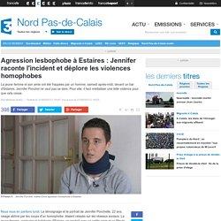 Agression lesbophobe à Estaires : Jennifer raconte l'incident et déplore les violences homophobes