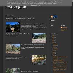 Mercantour Lac de Trécolpas 17 mai 2012