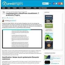 Lesefortschritt in WordPress anzeigen: 7 praktische Plugins