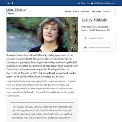 Lesley Midzain