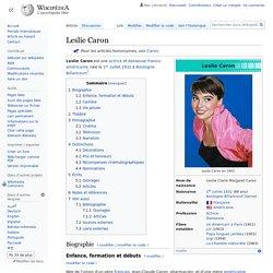 Leslie Caron - 1931-