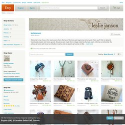 leslie janson by lesliejanson on Etsy