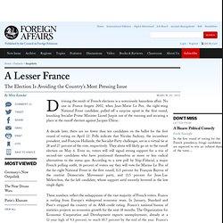 A Lesser France