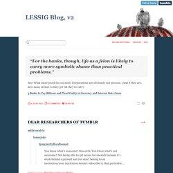 LESSIG Blog, v2
