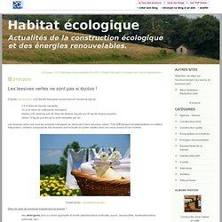 Les lessives vertes ne sont pas si écolos ! : Blog Habitat écologique