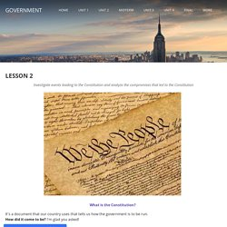 Lesson 2 - Government