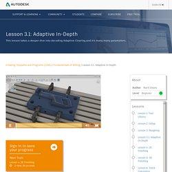 Lesson 3.1: Adaptive In-Depth