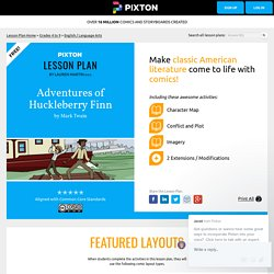 Lesson Plan: Adventures of Huckleberry Finn by Mark Twain