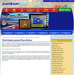 Free Third Grade Lesson Plans – Online Lesson Plans for 3rd Graders – JumpStart