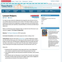 Lesson Helpers