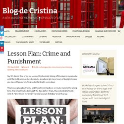 Lesson Plan: Crime and Punishment