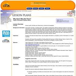 Lesson Plan Six
