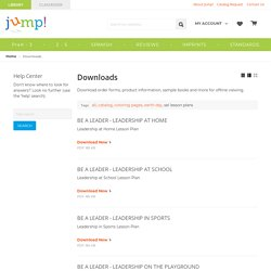 Sel Lesson Plans - Downloads - Jump! Inc.