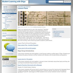 Lesson Plans - Student Learning with Diigo