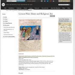 Lesson Plan: Islam and Religious Art