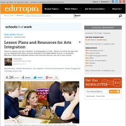 Lesson Plans and Resources for Arts Integration