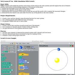 Orbit Simulation