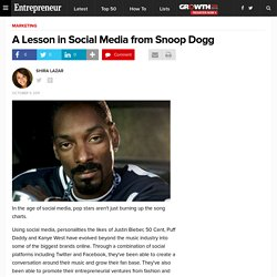 A Lesson in Social Media from Snoop Dogg