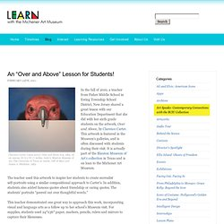 """An """"Over and Above"""" Lesson for Students!"""