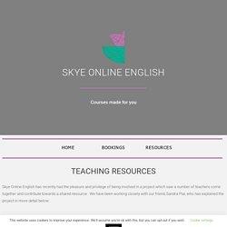 Lesson Plans for EFL Teachers - Skye Online English