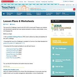 Lesson Plans & Worksheets