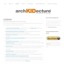 LESSONS - archKIDecturearchKIDecture