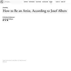 4 Art Lessons from Bauhaus Master Josef Albers